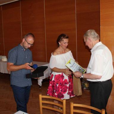 Výročná schôdza pri príležitosti 50. výročia dychovej hudby v Ludaniciach