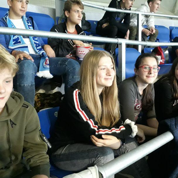 Zájazd detí na Slovan