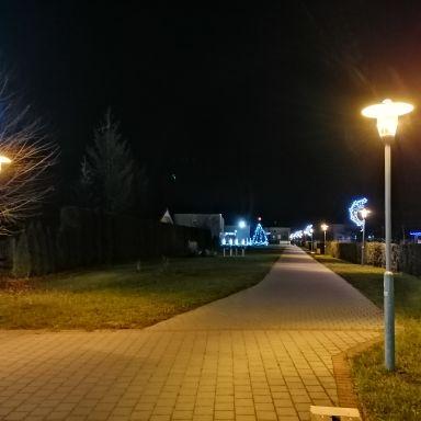 Vianočná výzdoba v obci