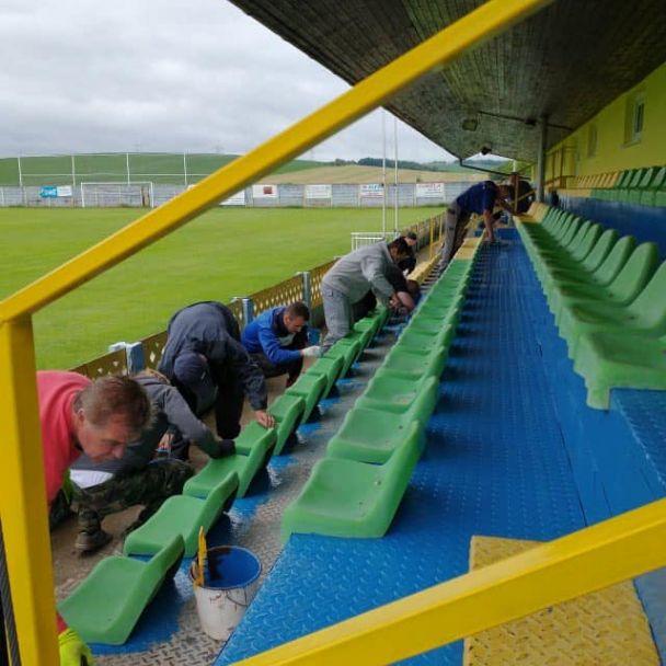 Obnova kabín na futbalovom ihrisku
