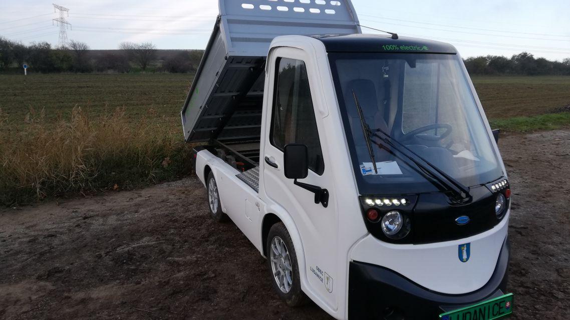 Dotácia 20 000 € na zakúpenie elektrického úžitkového vozidla