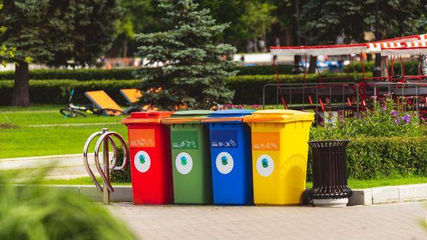 Vývoz nádob komunálneho odpadu a triedeného odpadu